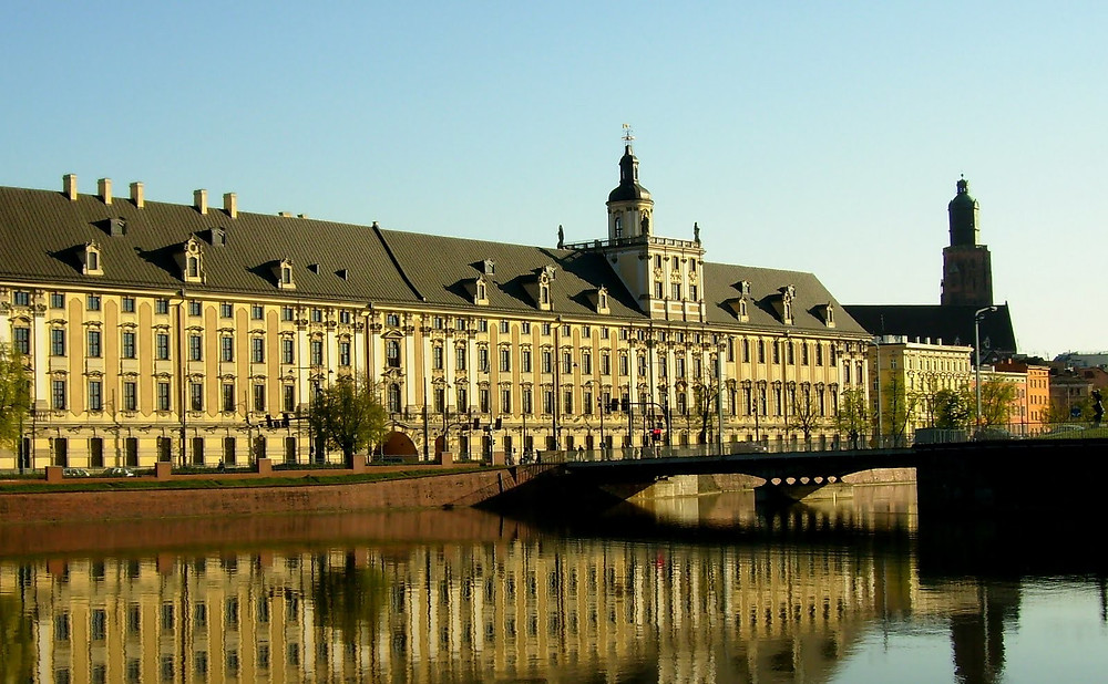 Wroclaw University buildings