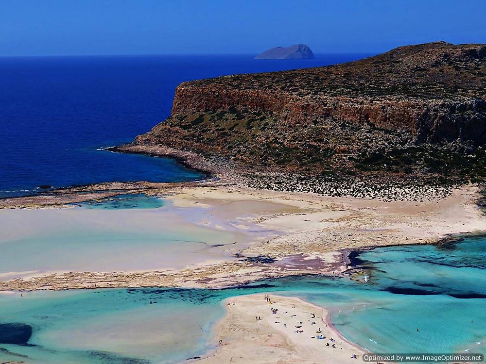 Balos beach, northern Crete