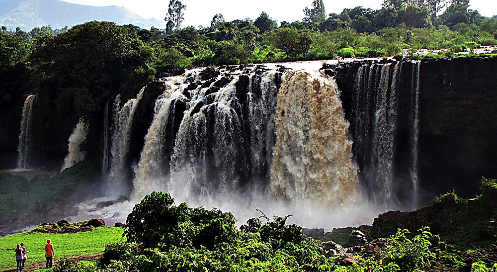 The Blue Nile Falls, central Ethiopia