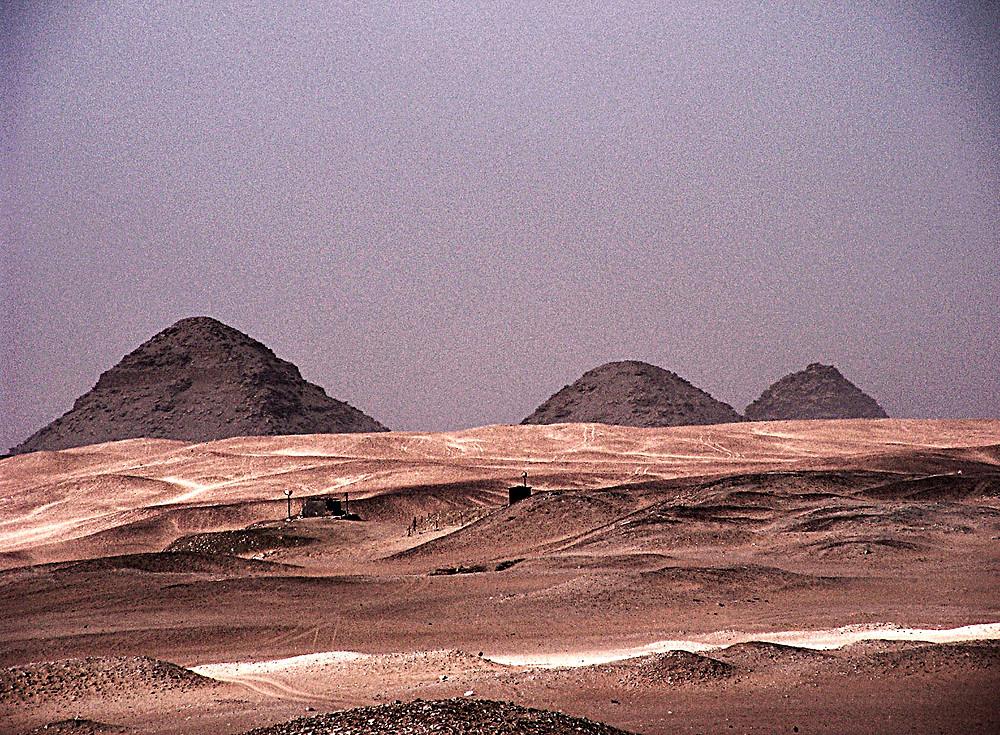 Saqquara: Pyramidal prototypes, near Cairo, Egypt