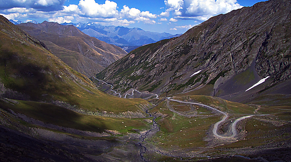 Road to Omalo, Tusheti region, Georgia