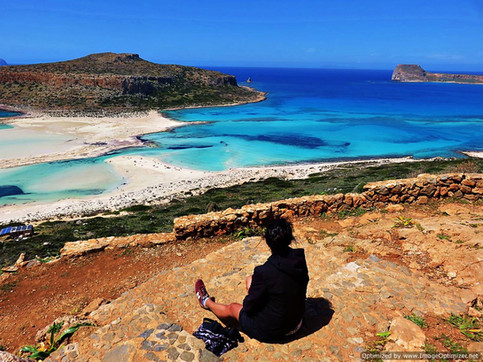 Balos Beach, north west Crete