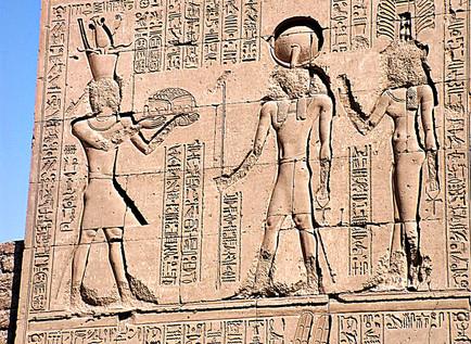 Hieroglyphics, Karnak Temple, Luxor