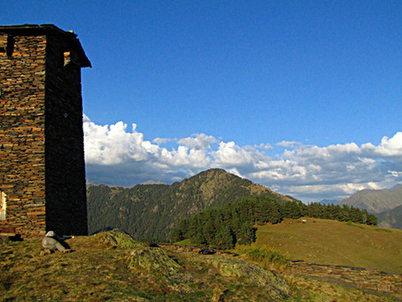 Caucasian Daze (Part 5/9) - Georgia: Tusheti - Hitch-hiking to Paradise