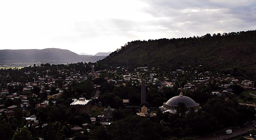 View of Axum, Ethiopia