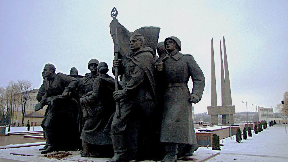 Vitebsk war memorial, Belarus