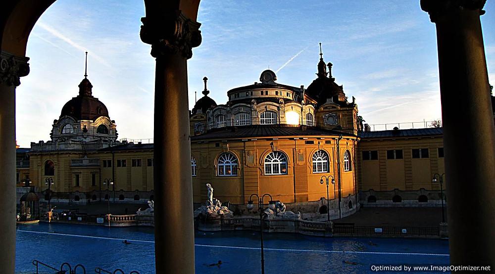 Szechenyi baths, Budapest - exterior