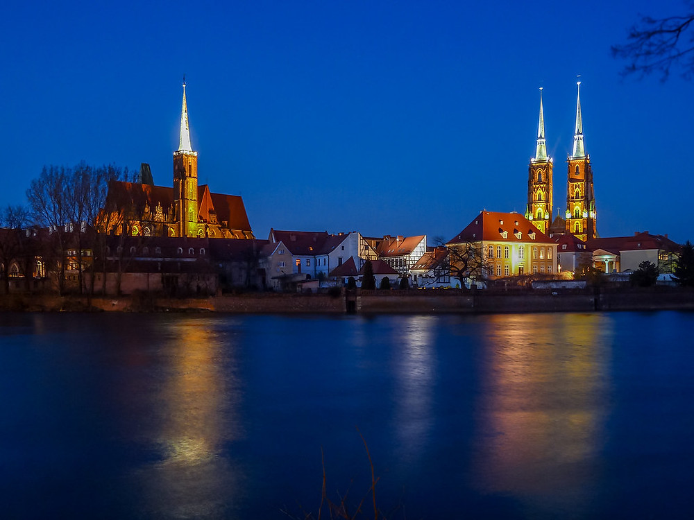 Ostrow Tumski cathedrals, Wroclaw