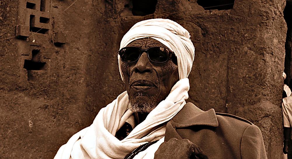 Tour guide, Lalibela, Ethiopia