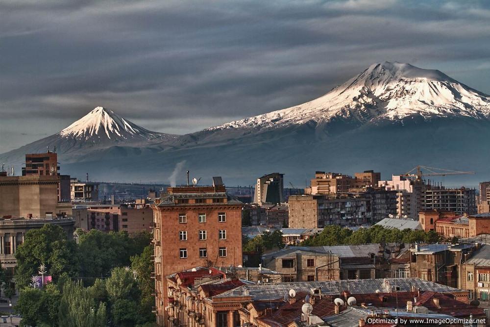 Yerevan skyline