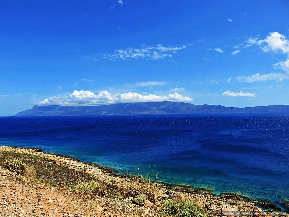 Looking toward the barren Rhodopou peninsula, north west Crete