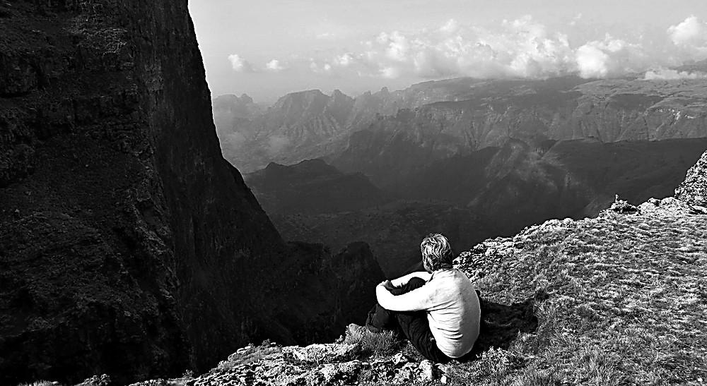 Looking toward Mount Imet Gogo, Simien Mountains, Ethiopia