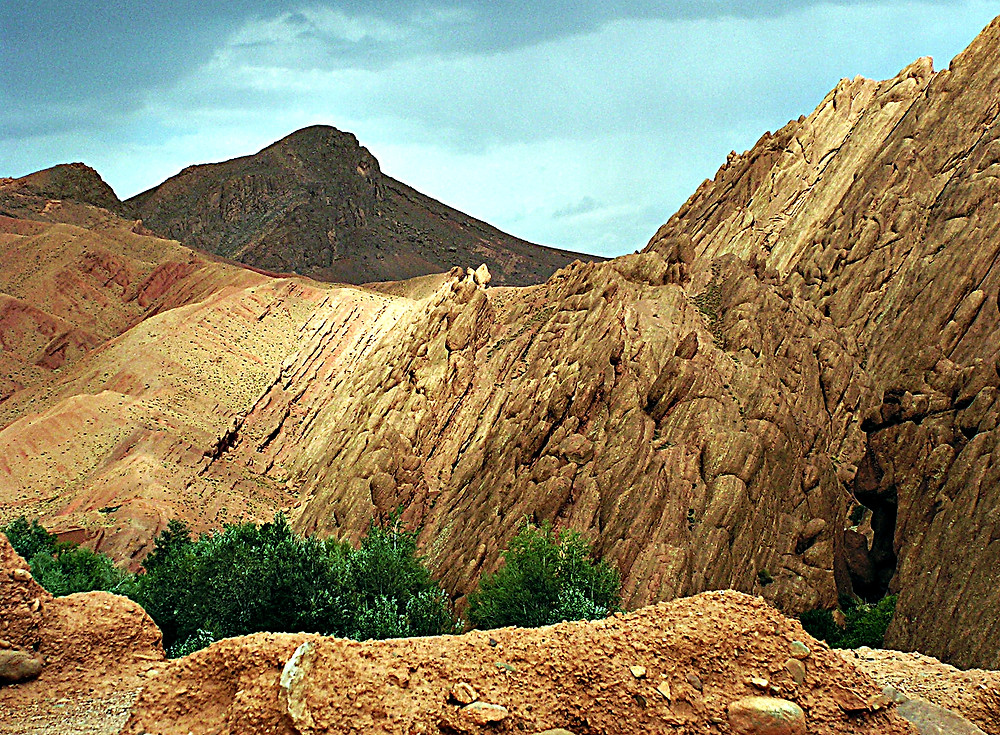 Scenery near Midelt, Morocco