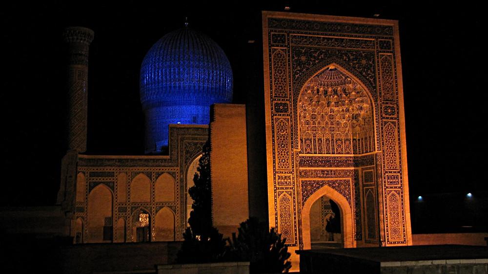Gur-i-Amir Mausoleum, Samarkand, Uzbekistan