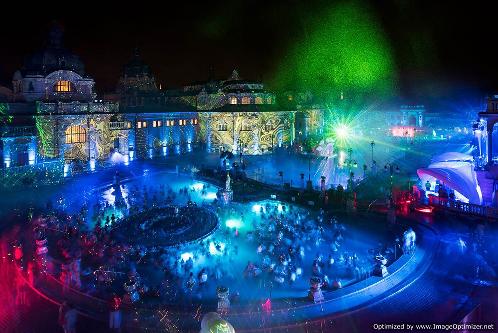 Szechenyi 'sparty' event