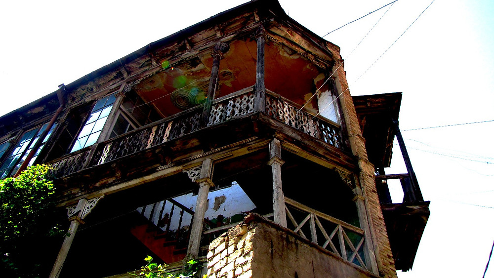 Traditional Georgian house, Tbilisi