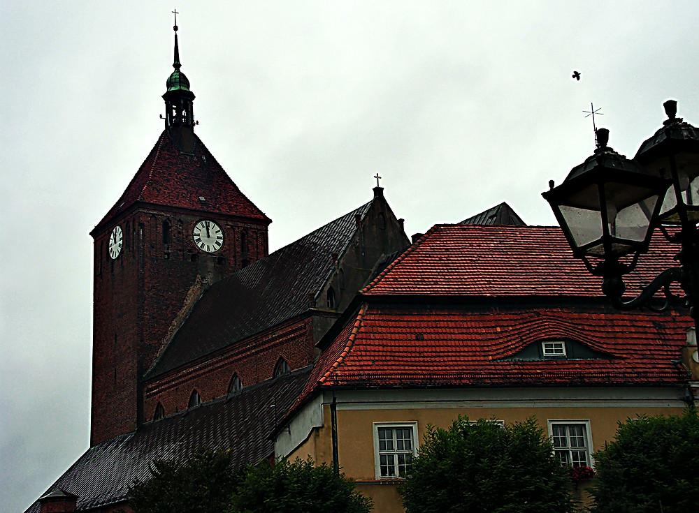 Old town, Darlowo, Baltic Sea, northern Poland