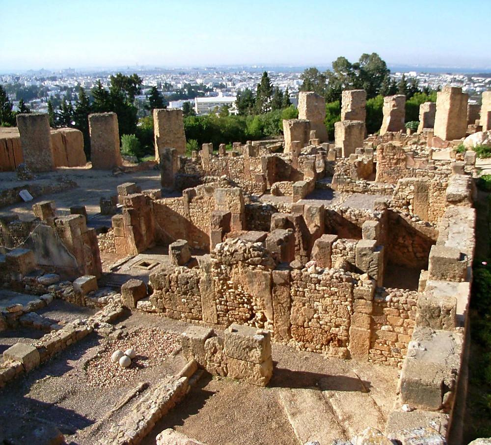 Royal villas, Carthage, Tunisia
