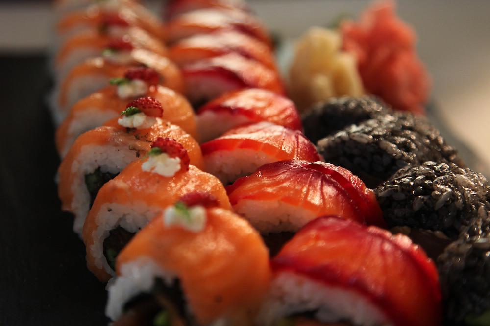 Nine Kitchen - sushi