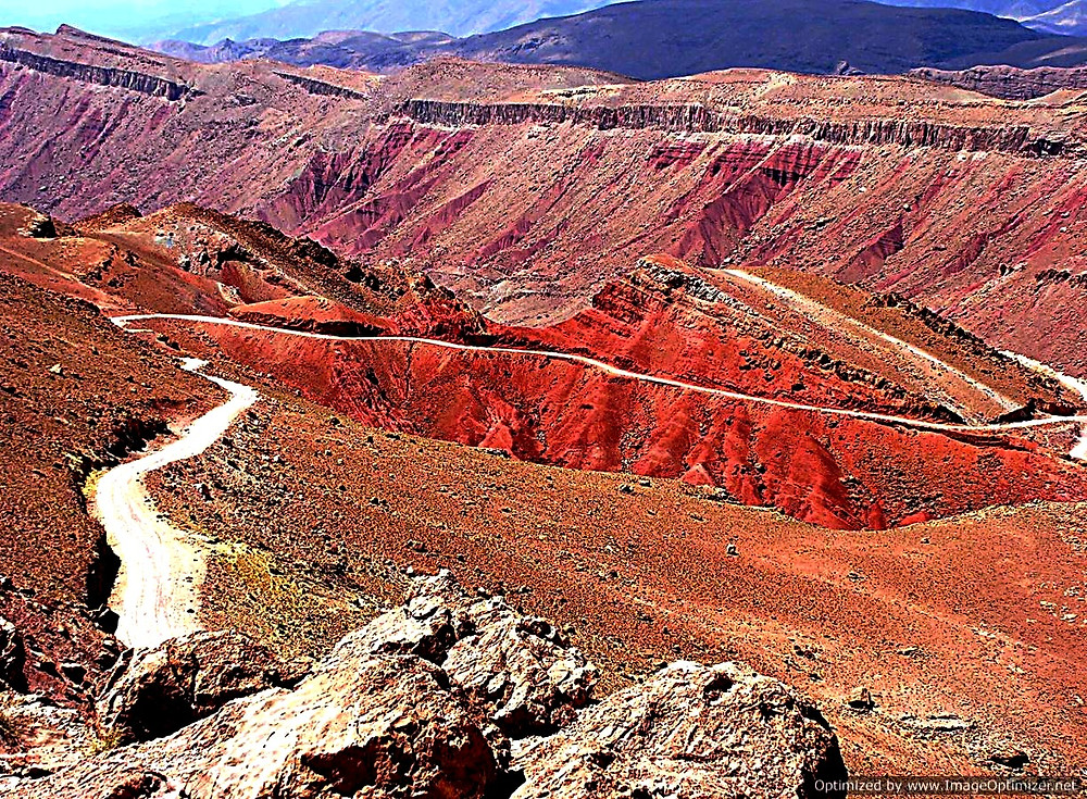 The Dades Gorge, Morocco