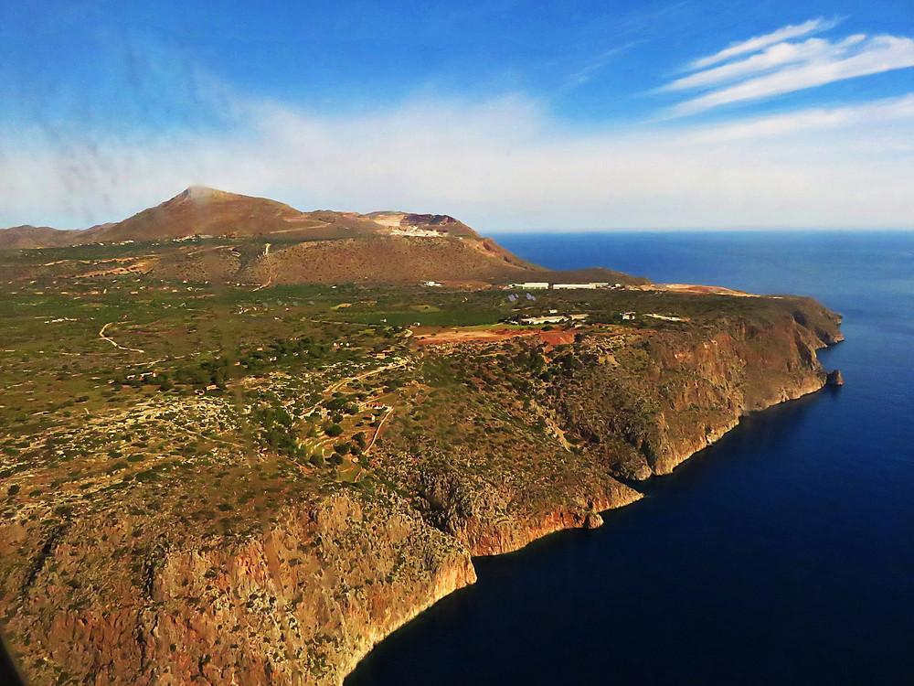 Crete's barren coast north of Chania