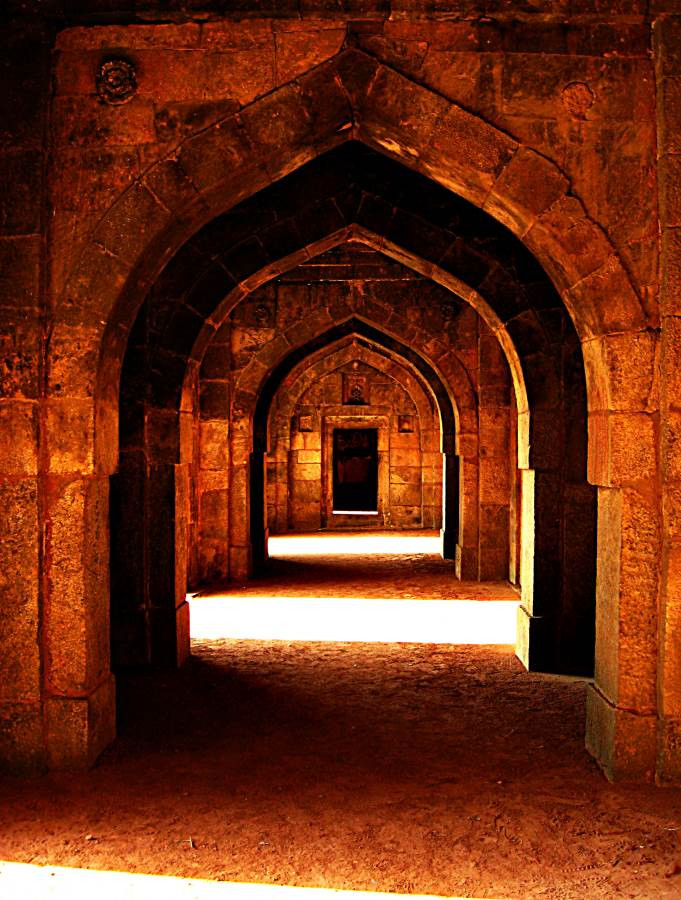 Inside the Red Fort, Agra, India