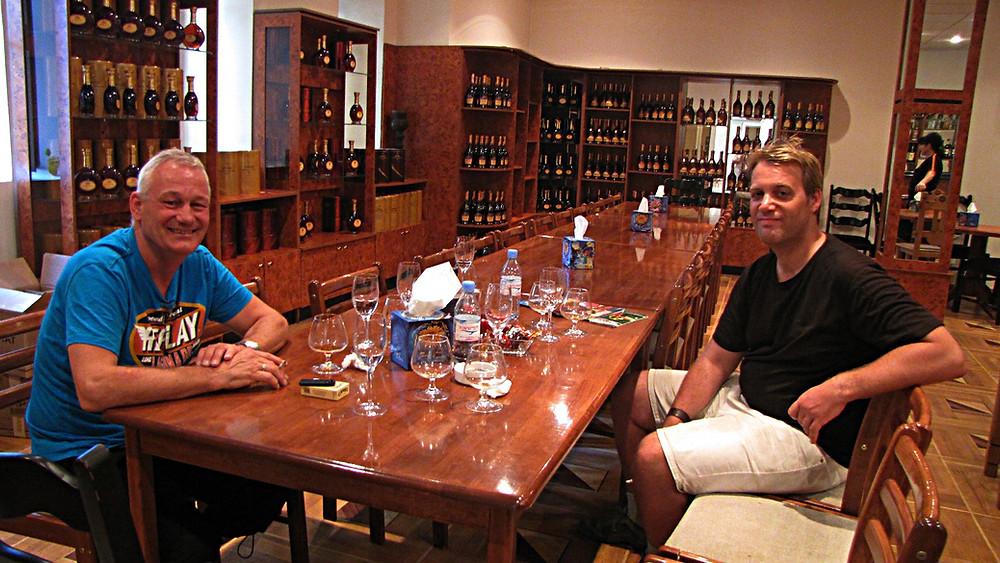 Brandy distillery tour and tasting, Yerevan, Armenia
