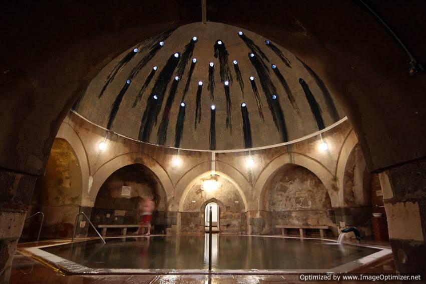 Kiralyi baths, Budapest - interior