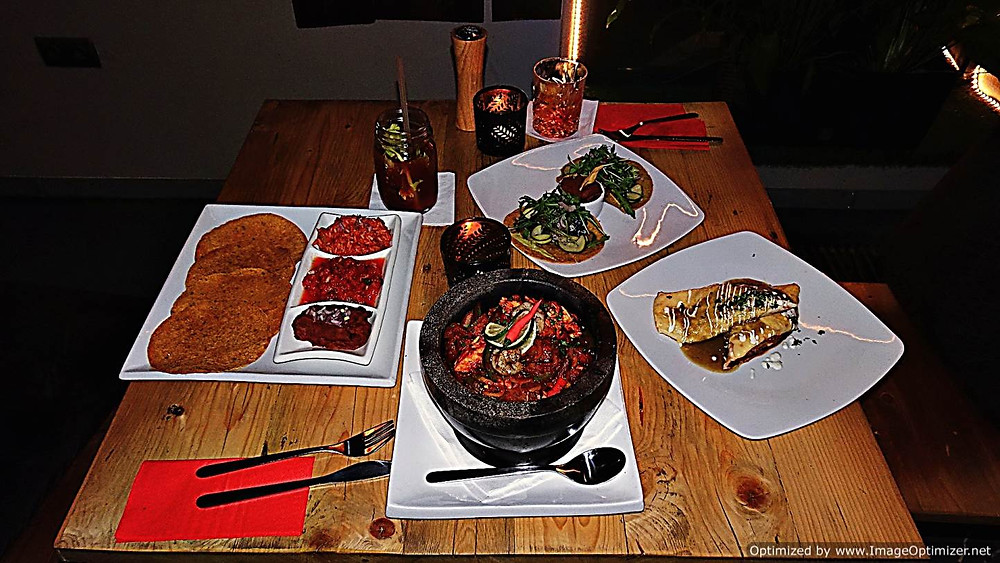 Manzana, Krakow - food