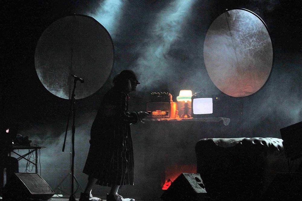 The Residents, in concert, Krakow, Poland, 2010