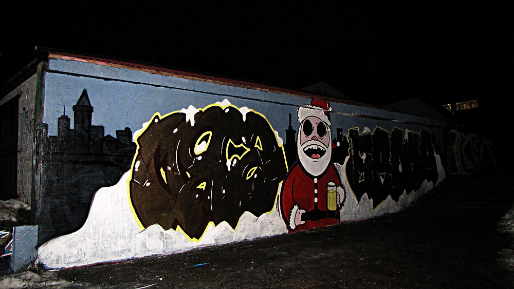 Street art, Grodno, Belarus
