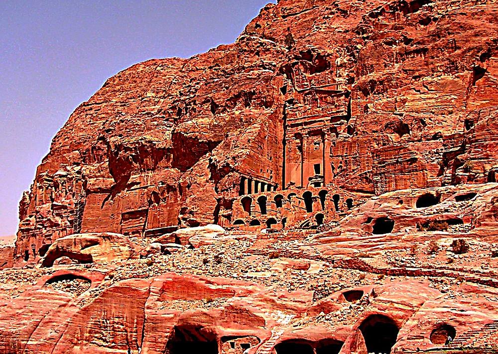 The Royal Tombs, Petra, Jordan