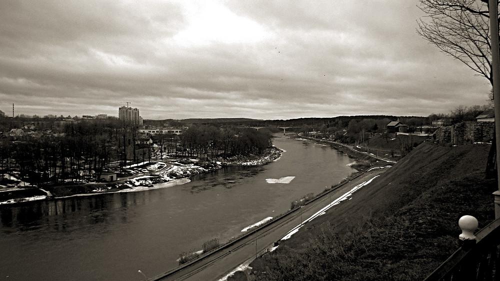 The Neman River, Grodno, Belarus