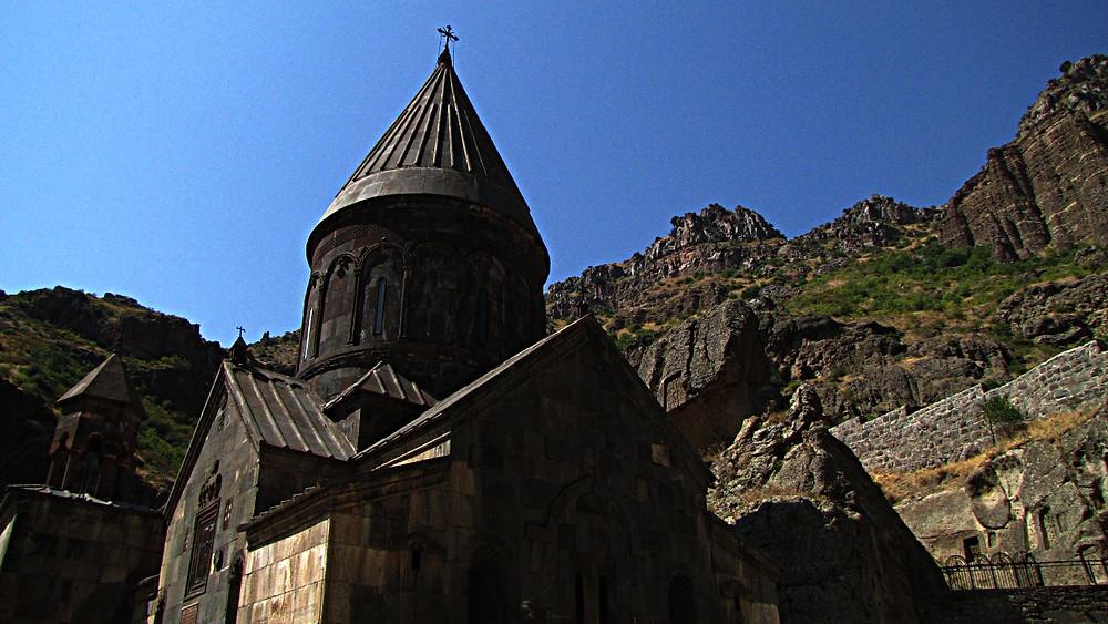Geghard Monastery, near Yerevan, Armenia