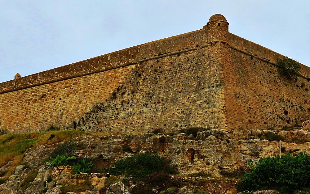 Fortezza - the impressive Venetian fortress, Rethymno, Crete