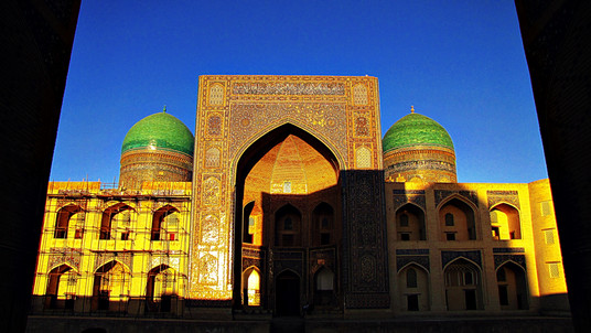 Mir-i-Arab Medrassah, Bukhara, Uzbekistan