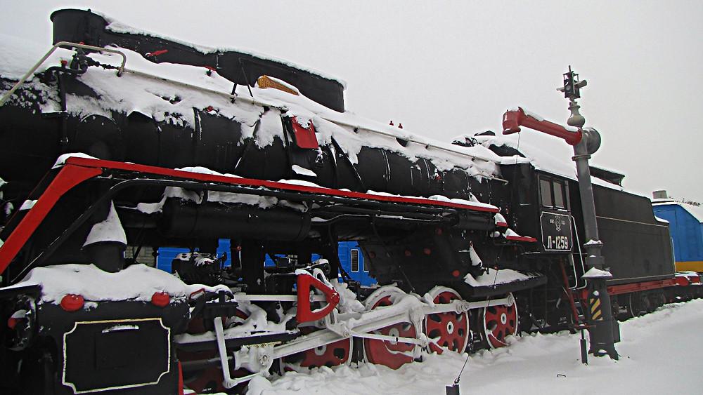 Brest railway museum, Belarus