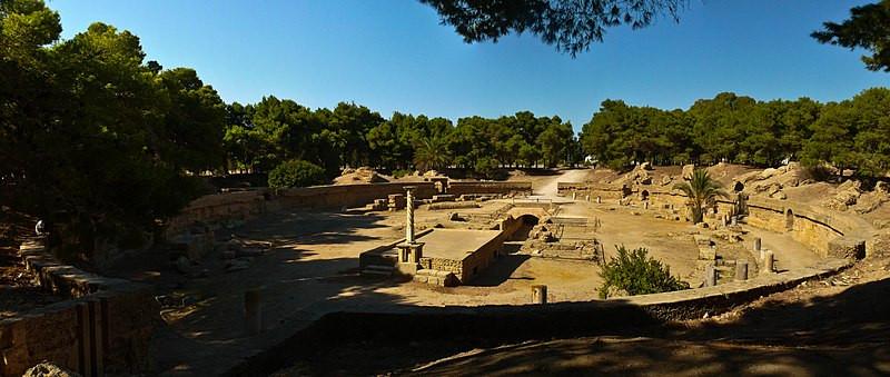 Roman Theatre, Carthage, Tunisia