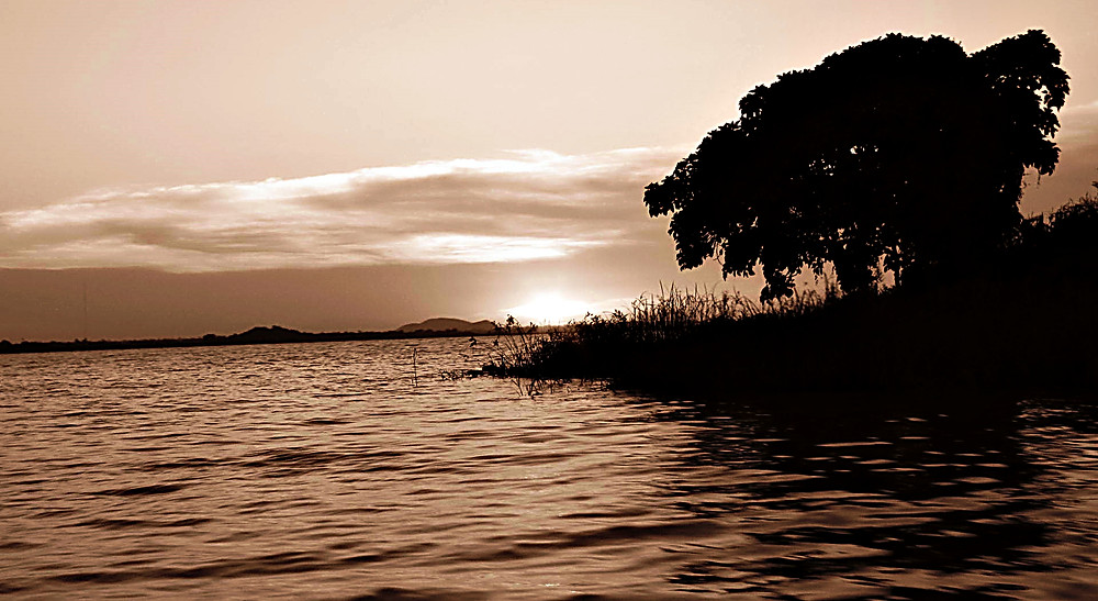 Lake Tana at sunset, Bahir Dar, Ethiopia