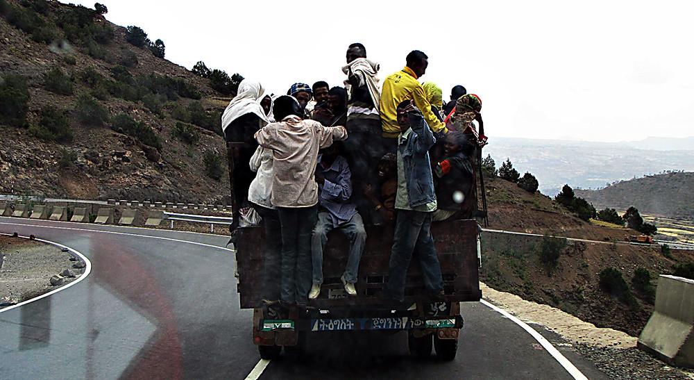 Budget travel, Ethiopia