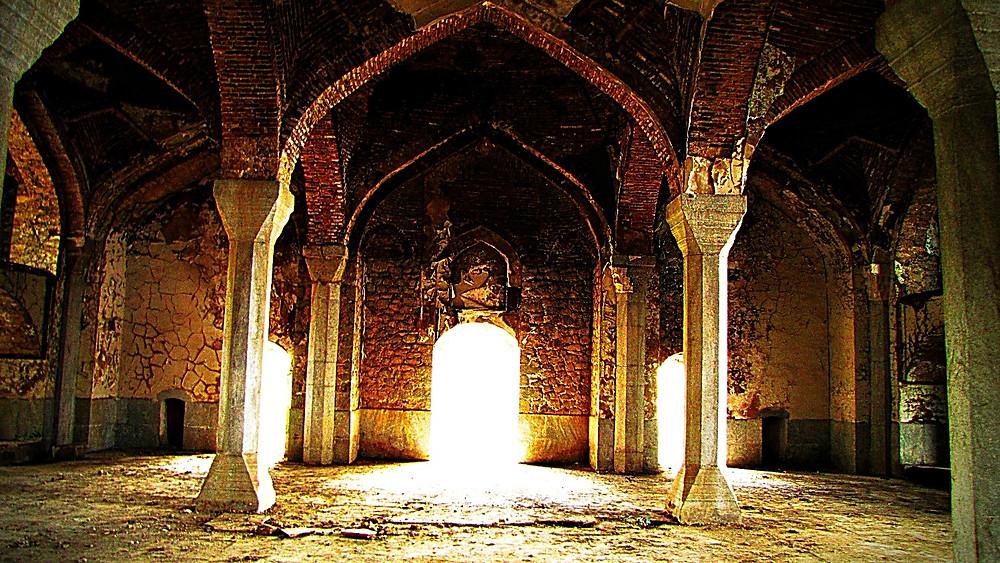 Mosque interior, Shusha, Nagorno-Karabakh, Armenia
