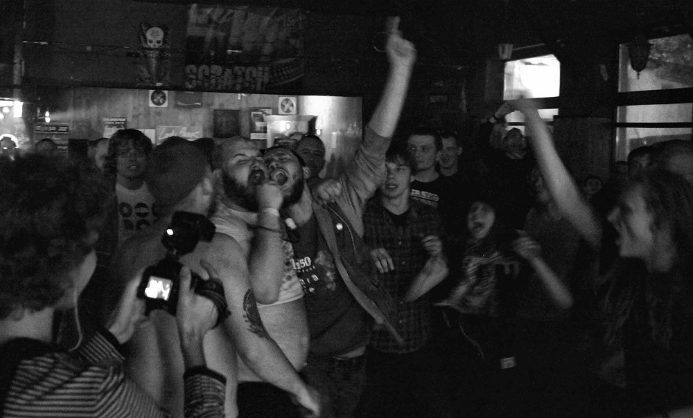 Fucked Up concert review, Loch Ness, Krakow, Poland, 2009