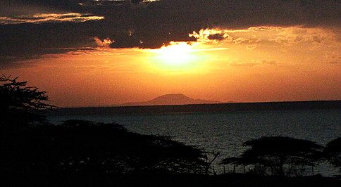 Sunset, Lake Langano, Ethiopia