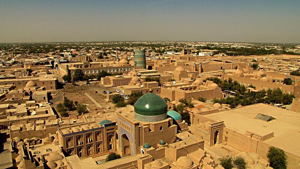 Khiva cityscape view, Uzbekistan