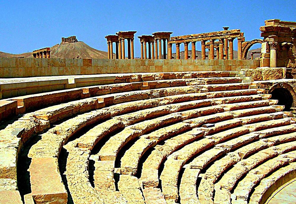 Roman amphitheatre, Palmyra, Syria