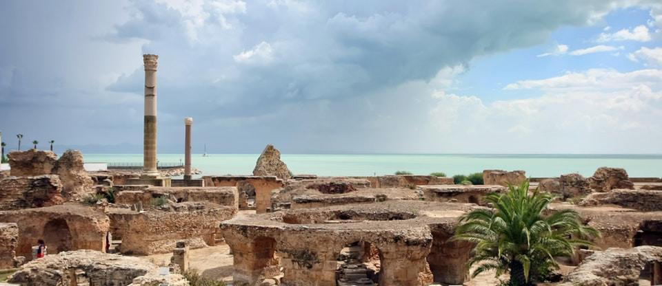 Roman baths, Carthage