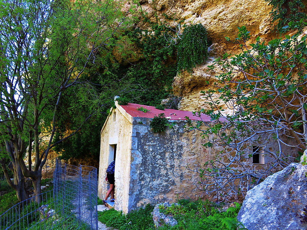Church, Mili Gorge, Rethymno, Crete
