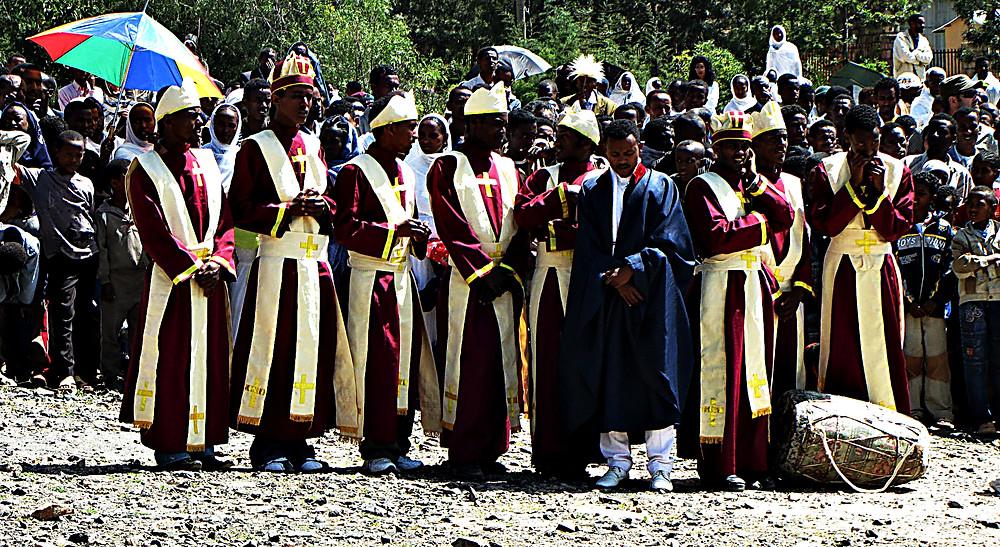 Religious festival, Axum, Ethiopia
