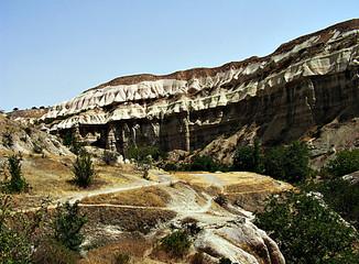 The Ihlara Valley, Cappadocia, Turkey