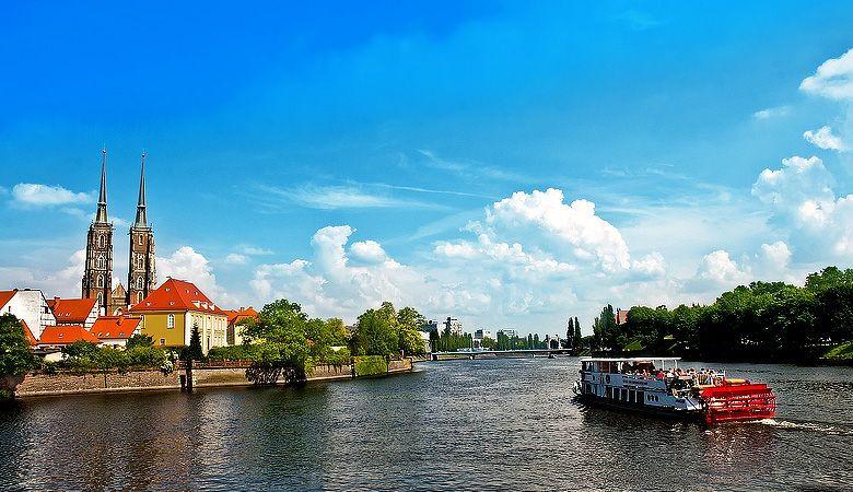 River Odra boat trip, Wroclaw
